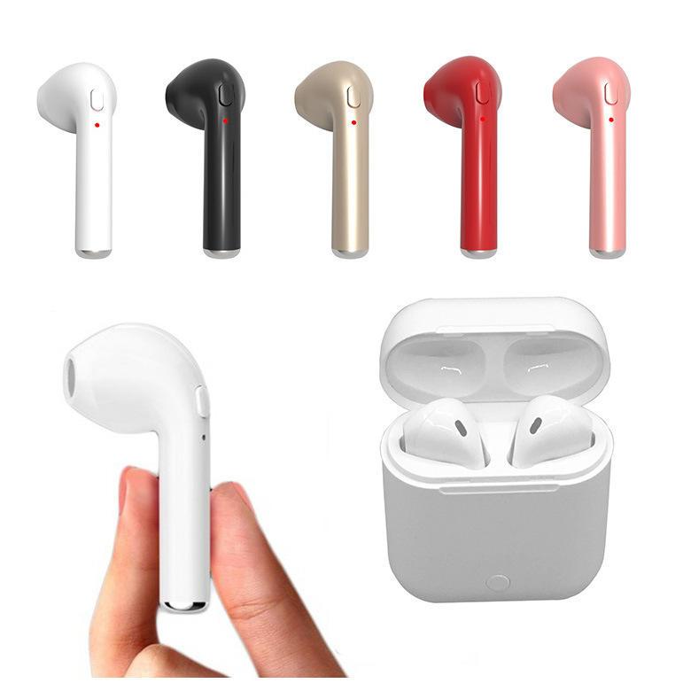 Auriculares manos libres Bluetooth TWS i7s de alta calidad
