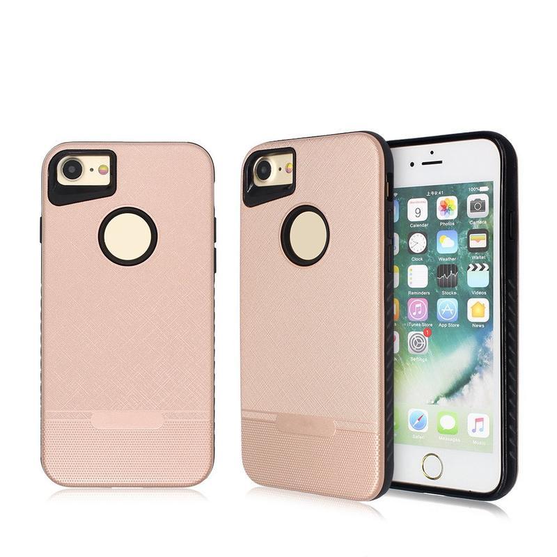 Nuevo TPU Phone Case para el iPhone 7 con la contraportada elegante de la PC