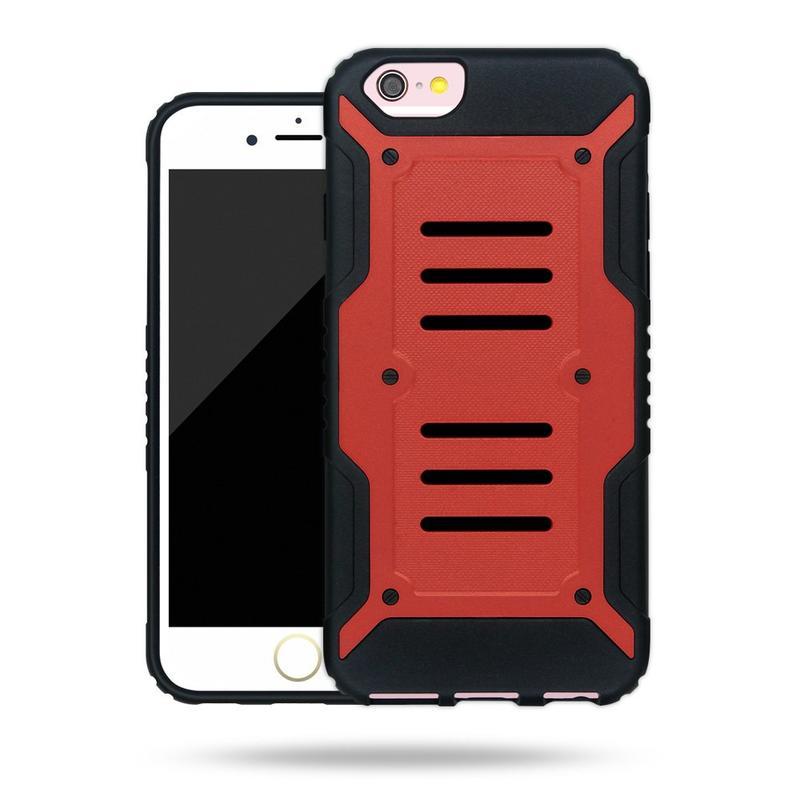 Victor TPU + PC X-man diseño de la contraportada del teléfono para el iPhone 6s