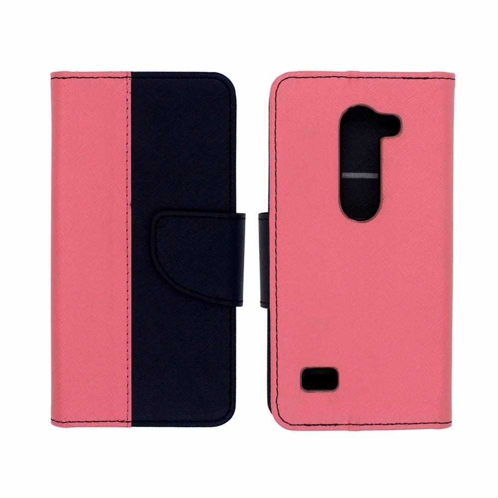 Victor  PU Wallet leather case for LG Leon C40