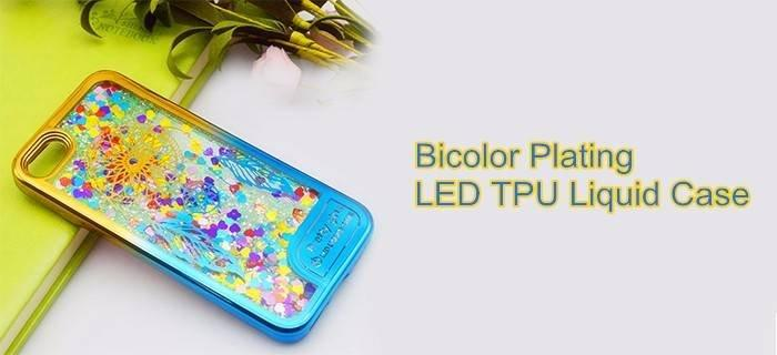 Bicolor Plating Liquid Case wholesale