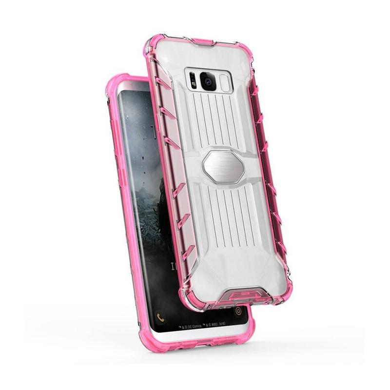 TPU Bumper PC Phone Case for Samsung S8 Plus