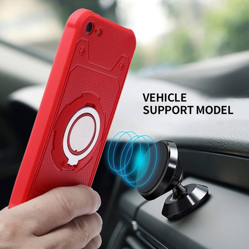 Vehicle Support iPhone 5 Protective Case with Ring