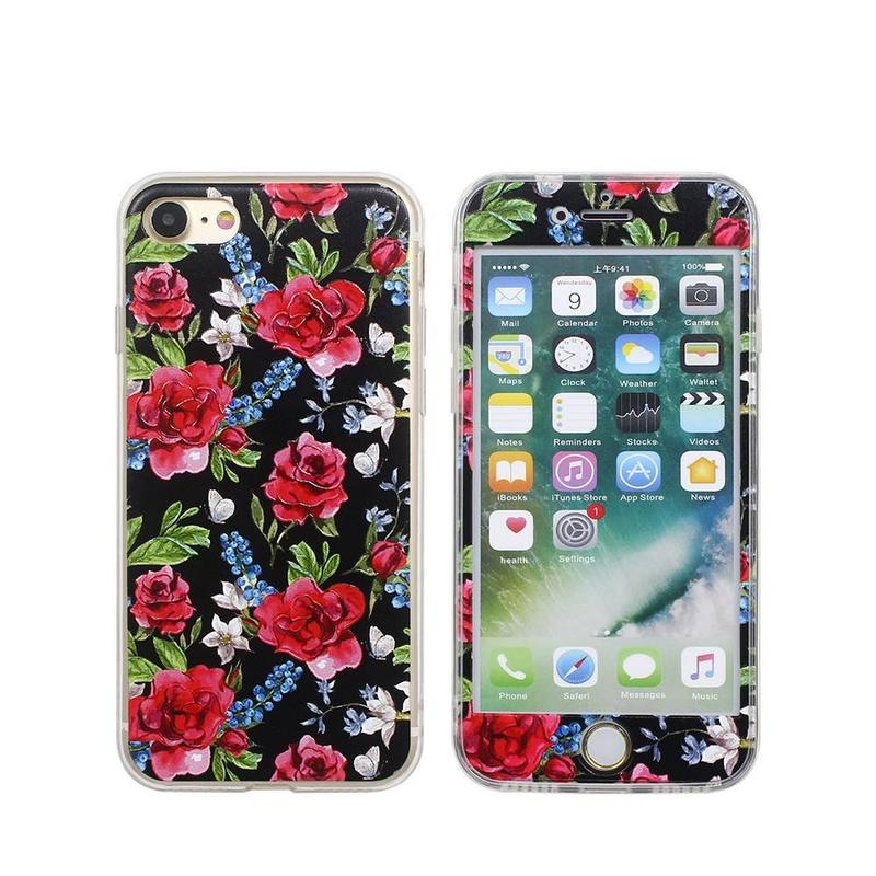 Beautifully Painted Embossed iPhone 7 Pretty Phone Case
