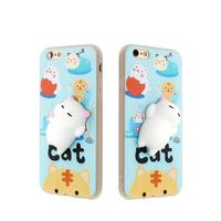 Soft Cartoon Silicone Doll Cute Phone Case for iPhone 6