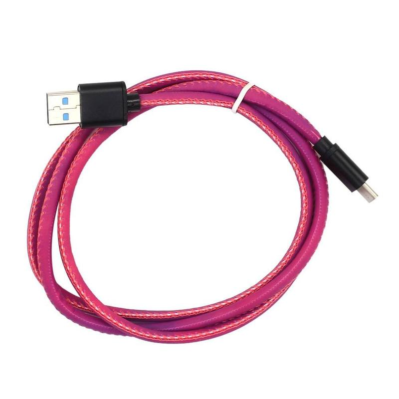 Heat Sensing Colorful Micro USB Data Transfer  Cable