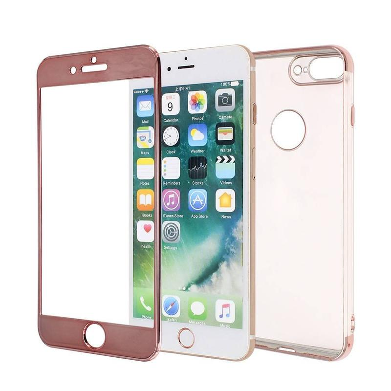 iPhone 7 Plus Protective Case Made of TPU with Electroplated Parts