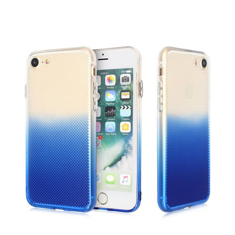 Miel Peine TPU iPhone 7 Caso en color degradado