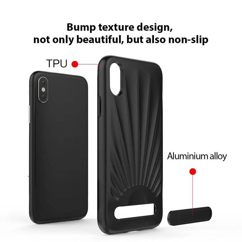 Protective iPhone X Case with Nice Appearance and Kickstand