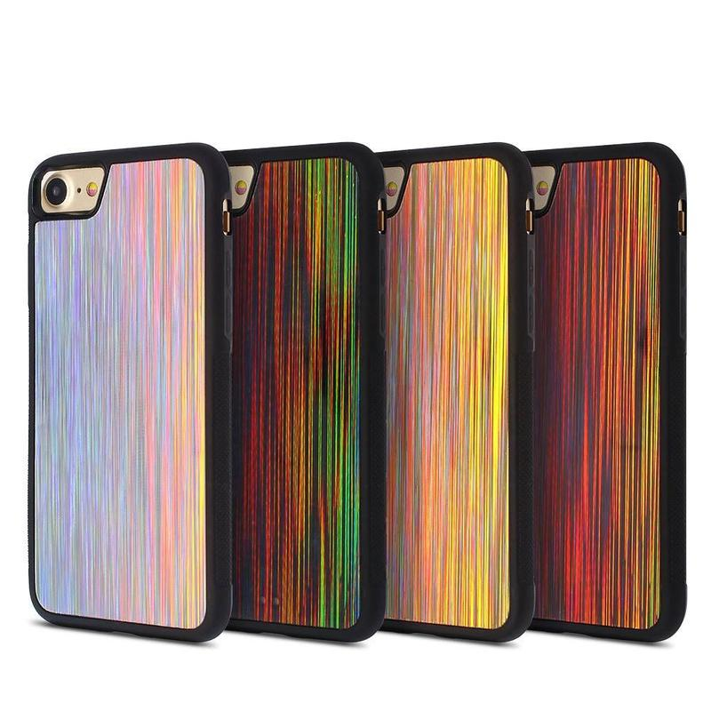 Anti Slip iPhone 7 Case with Shiny and Colorful Back