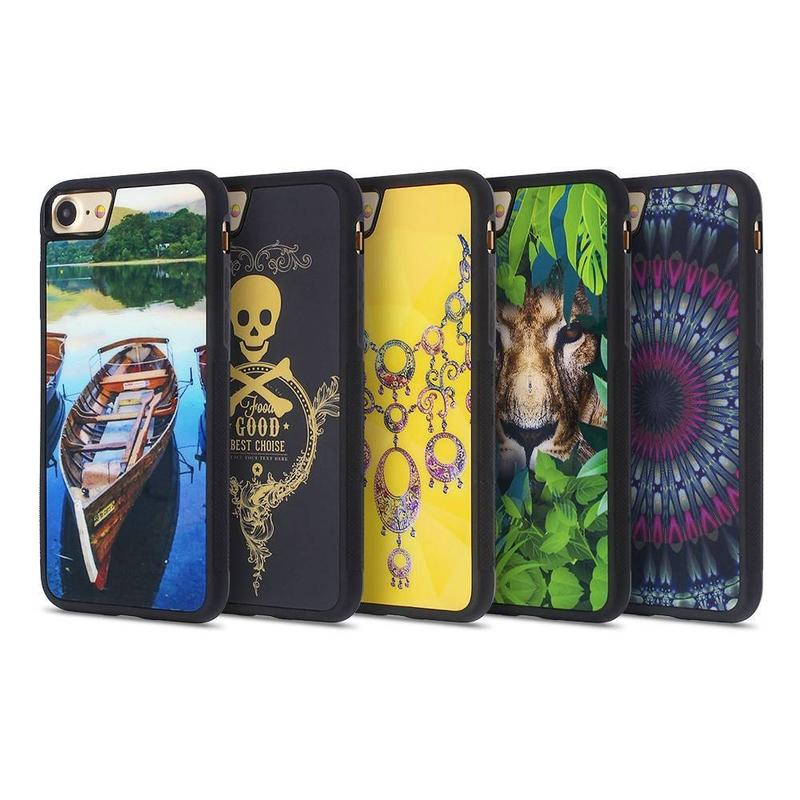 Anti Slip Phone Case for iPhone 7 with Colorful Artworks