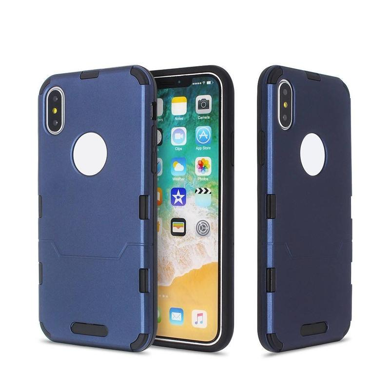 iPhone X Slim Case Inclduing PC and TPU Parts