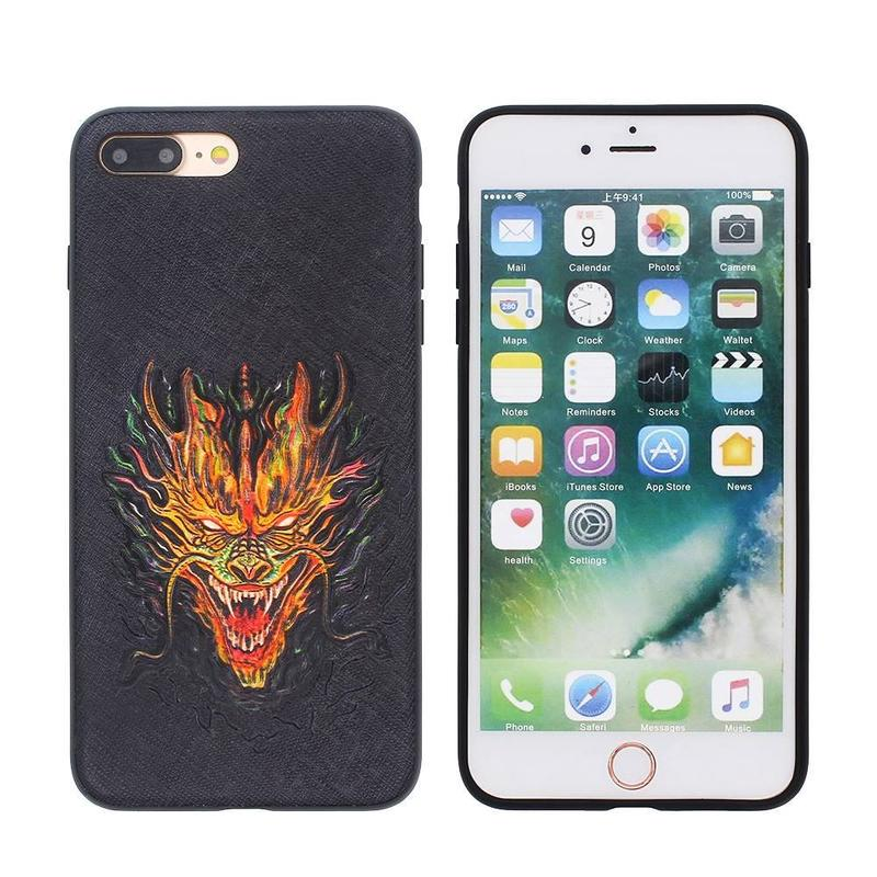 iPhone 7 Plus Slim Case with Cool Dragon Image