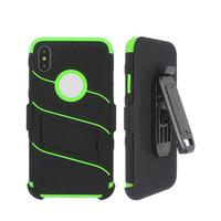 Colorful TPU Highly Protective iPhone X Case with Cover