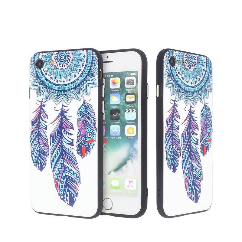 iPhone 7 Beautiful Phone Case with Pretty Embossed Artworks
