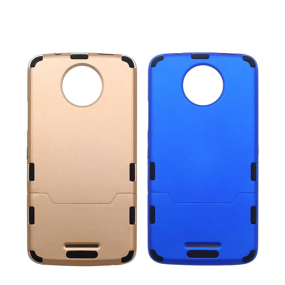 Moto C Case - Slim Protective Combo Case for Motorola