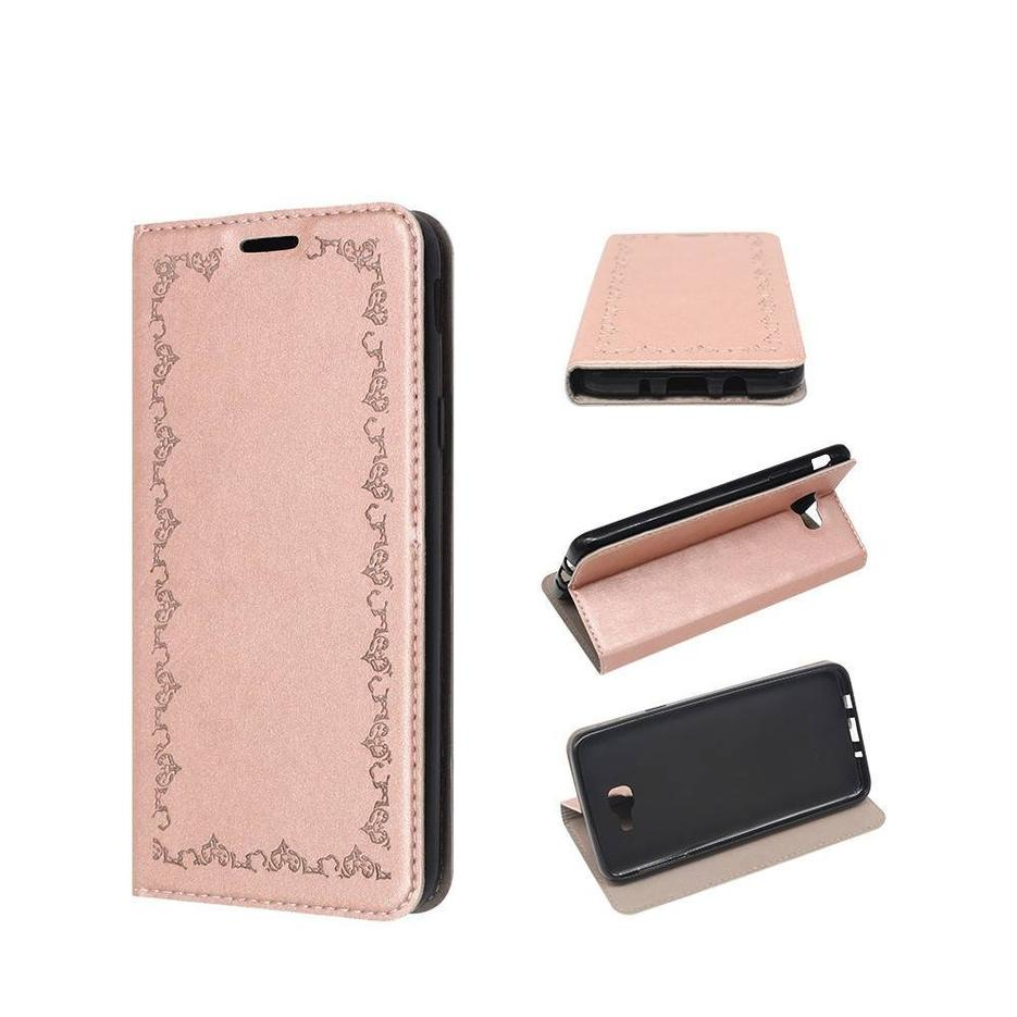 Wallet Samsung On5 2016 Case with A Foldable Front Cover