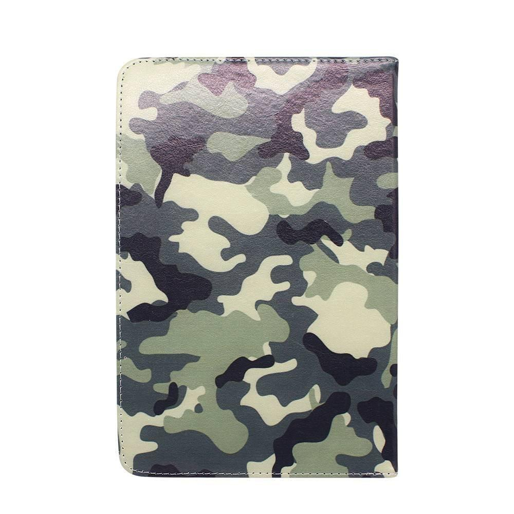 Rotatable 9 Inch Leather Tablet Case in Camouflage Color