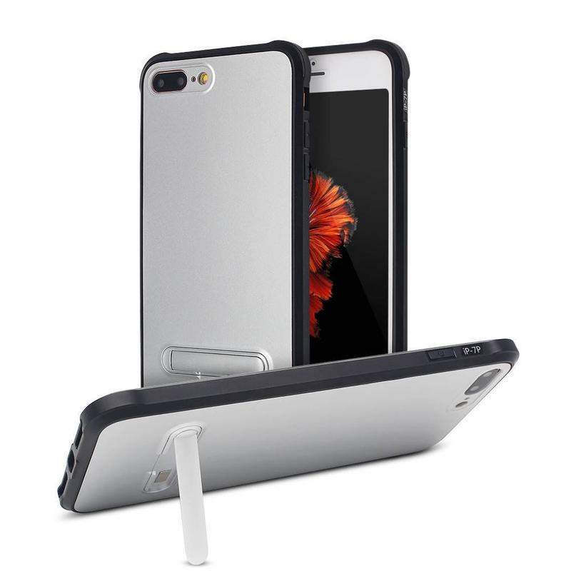 7 Plus Phone Case - 360 Degree Protective Case with Kickstand