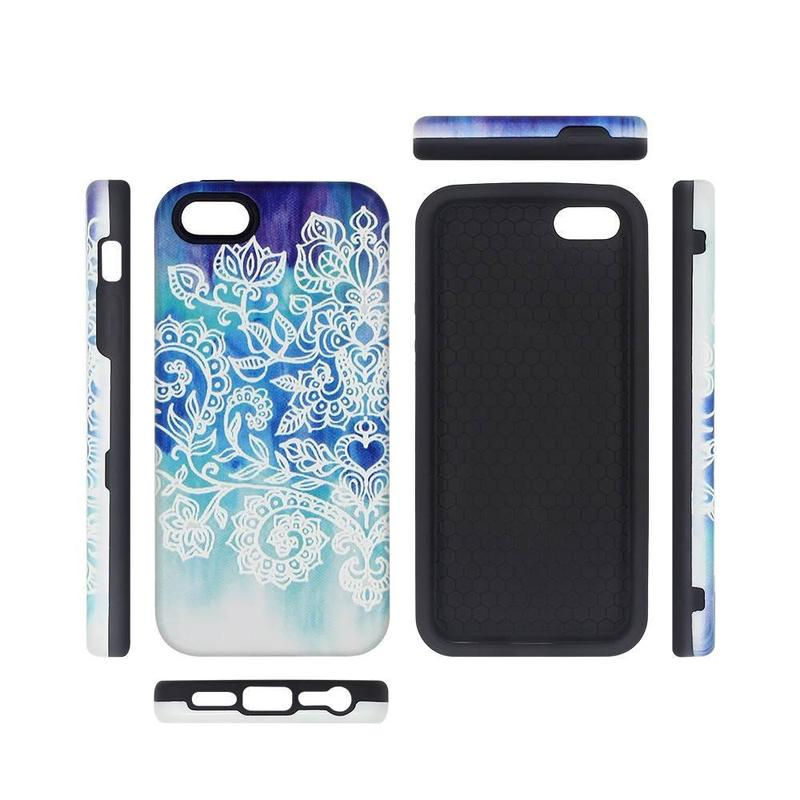 iPhone 5 Phone Cases with Embossed Pretty Back Covers