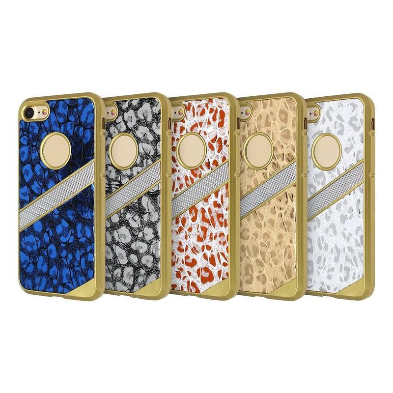 Protective Veneer PU Leather Case for iPhone 7 bulk buy
