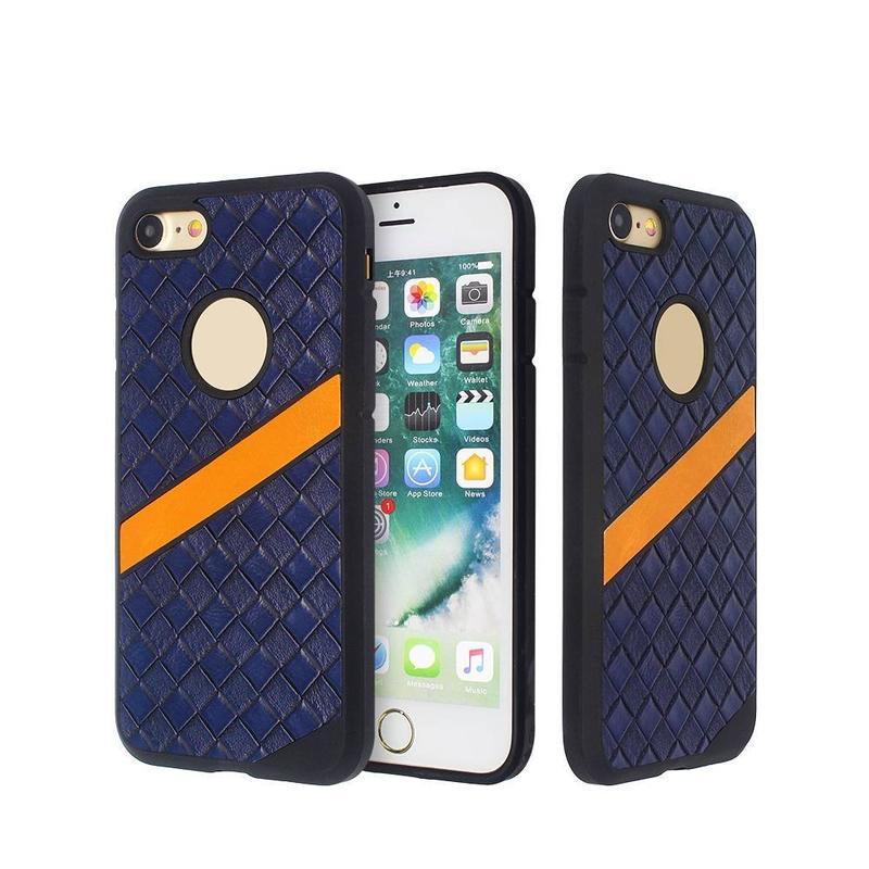 Funda de cuero de chapa para iPhone 6/7/8 al por mayor