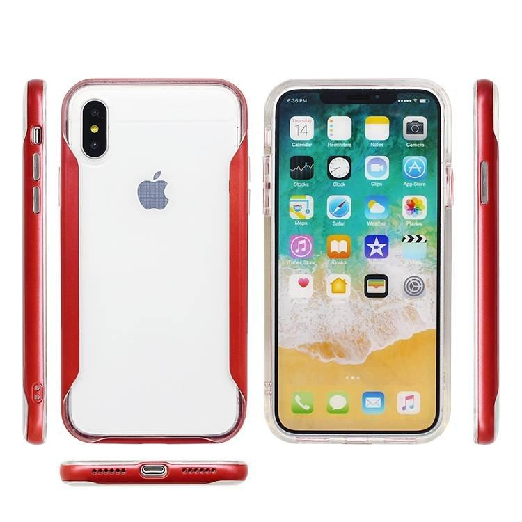 Claro caso de protección IPhone X al por mayor