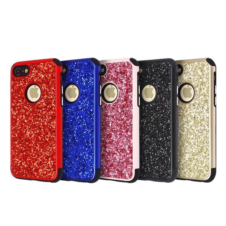 2 in 1 Glitter Case for iPhone 7 Wholesale