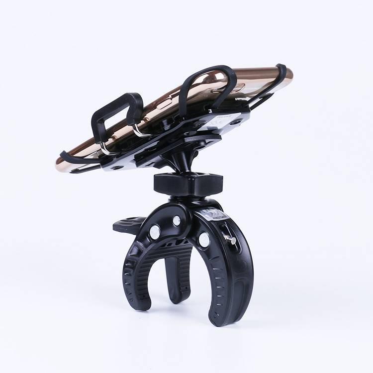 Abrazadera de sujeción Dispositivo de montaje de soporte de teléfono para coche