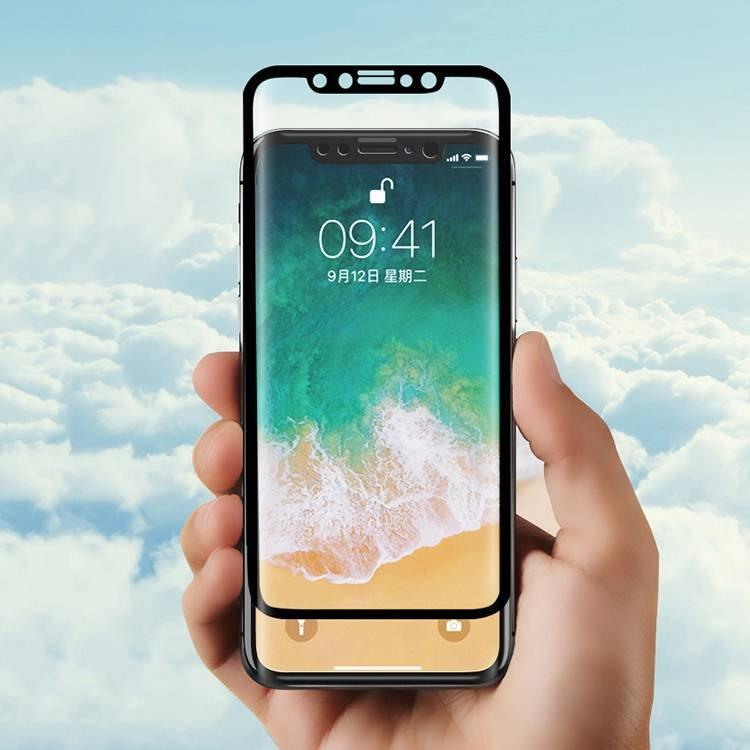 3D Curved Full Cover Tempered Glass for IPhone X wholesale