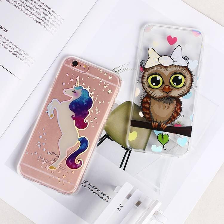Clear IMD TPU Phone Case for IPhone 6 Wholesale