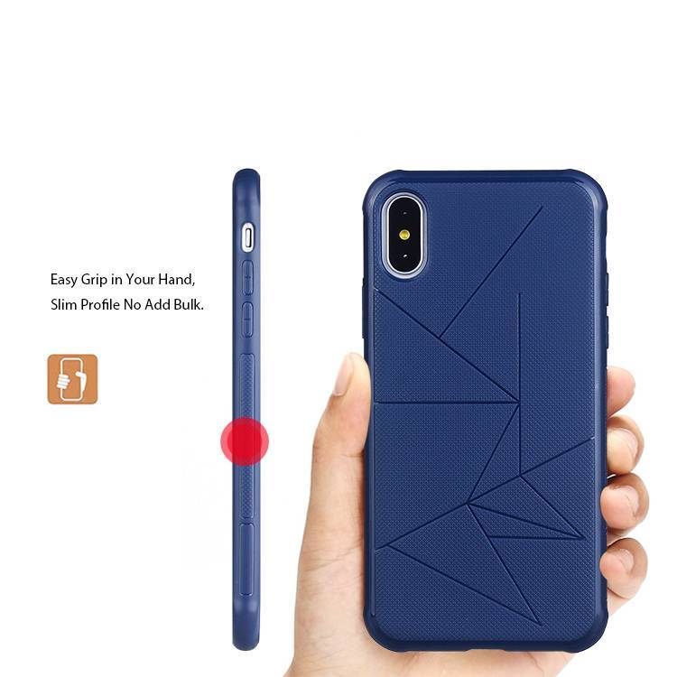 Geometric designed TPU Vehicle-mounted for iPhone X with wholesale