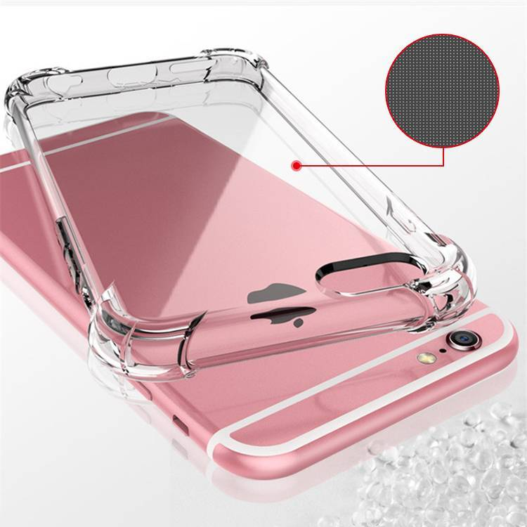 Soft TPU Airbag Shockproof Hight Clear Phone Case For IPhone for Samsung for Huawei