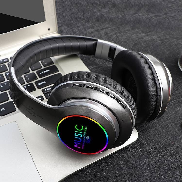 Wholesale LED Bluetooth Headphone VJ033 Wireless Headset for iPhone for Samsung