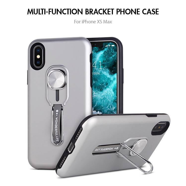 Multi-functional Kickstand Ring Holder Phone Case for iPhone X XS MAX XR