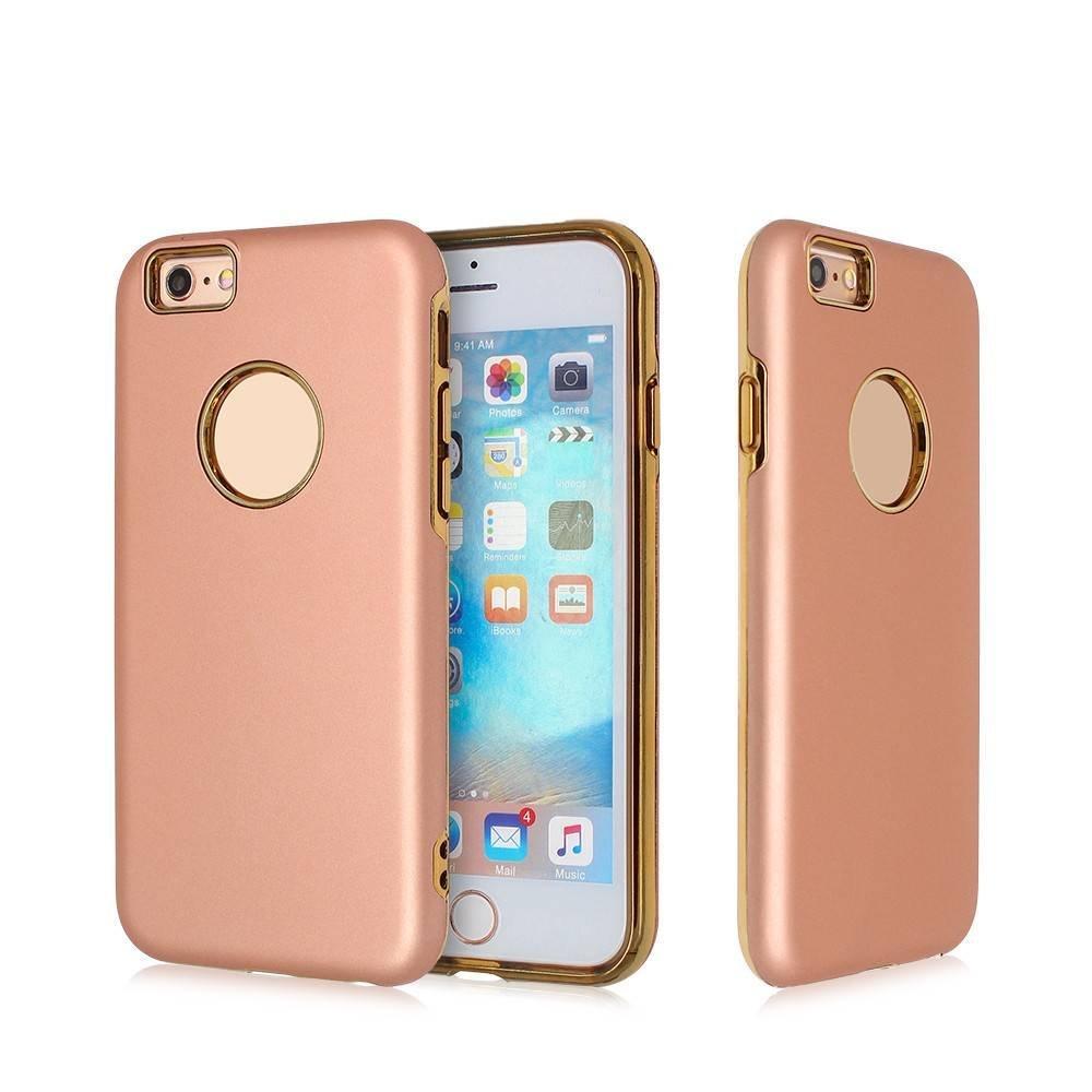 Funda protectora para iPhone 6 con cubierta de plástico con goma