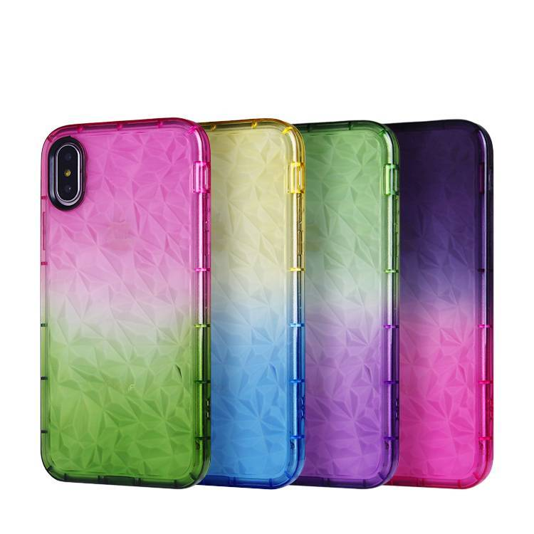 Gradient Color TPU Case para iPhone X / XS / XS MAS Venta al por mayor