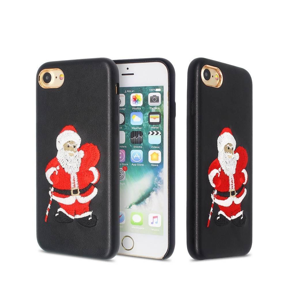Funda para teléfono de Navidad - Estuches de cuero Slim iPhone 7