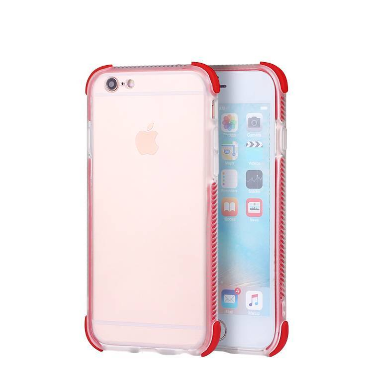 Anti-drop Clear Case para iPhone 6 al por mayor
