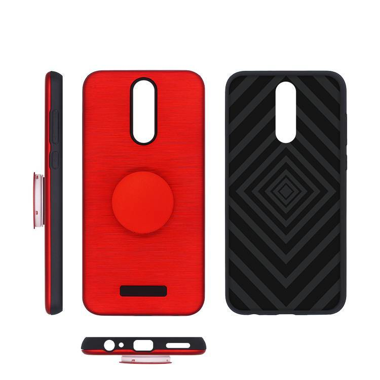 Brushed Popsocket Case for Huawei maimang 6