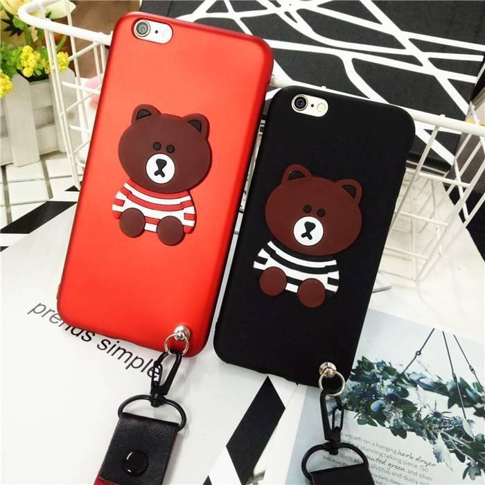 Caja del teléfono Fashion Bear para iPhone 6/7/8 Bulk Buy