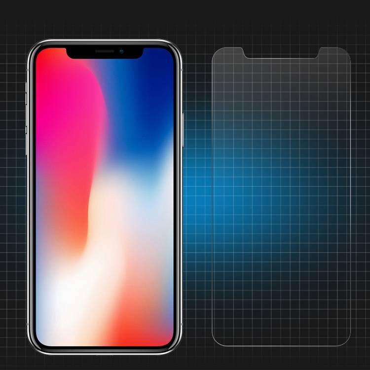 Anti Scratch Clear Clear 2.5D 9H protector de cristal templado para el iPhone X