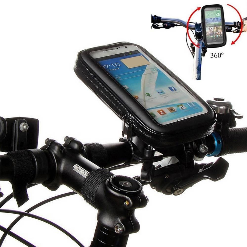 Bolsa de teléfono con gran espacio - bolsa de teléfono giratorio de la bici para la venta al por mayor