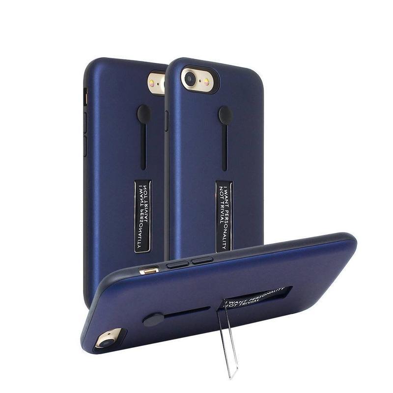 Funda de prueba de cinturón para iPhone 7 con Kickstand