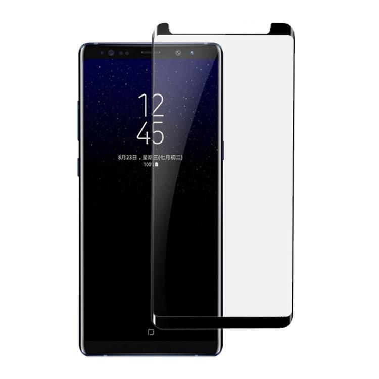 Vidrio templado de color de impresión de seda antichispas para Samsung Galaxy Note 8
